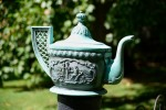 The Edenton Teapot commemorates a gathering of 51 women in 1774 who protested the tea tax and agitated for independence.