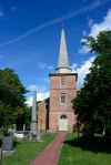 St. Pauls's episcopal is the third building on this site and still contains its colonial era furnishings.
