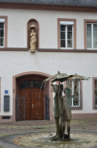 Girls with Umbrellas, Ballplatz