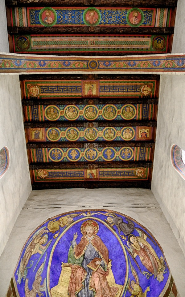 Ceiling of Chancel