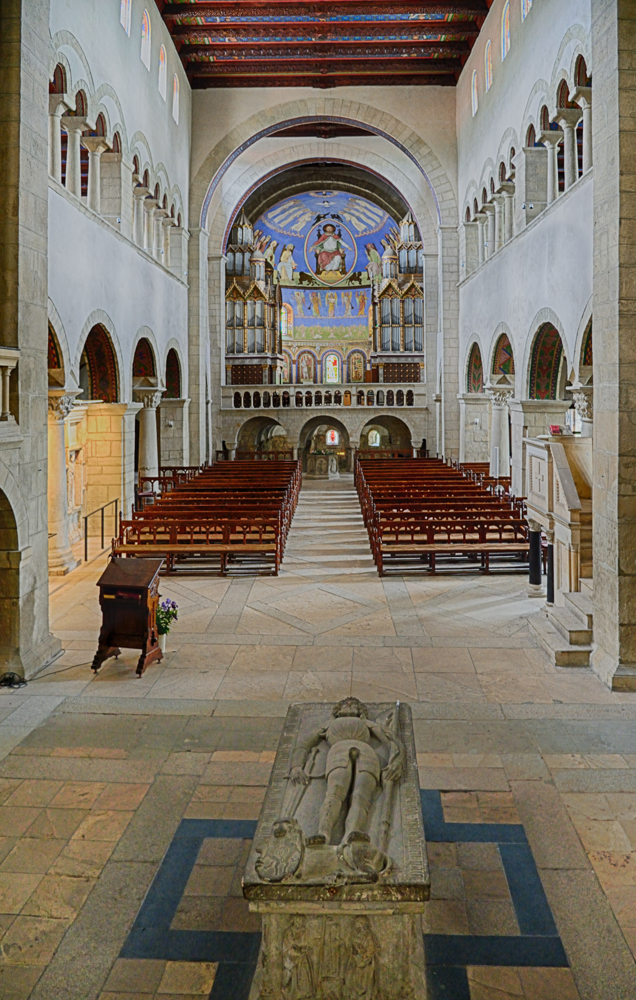 View to West from Chancel