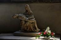 Pieta with Flowers