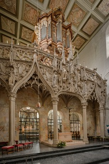 Rood Screen from 1503.
